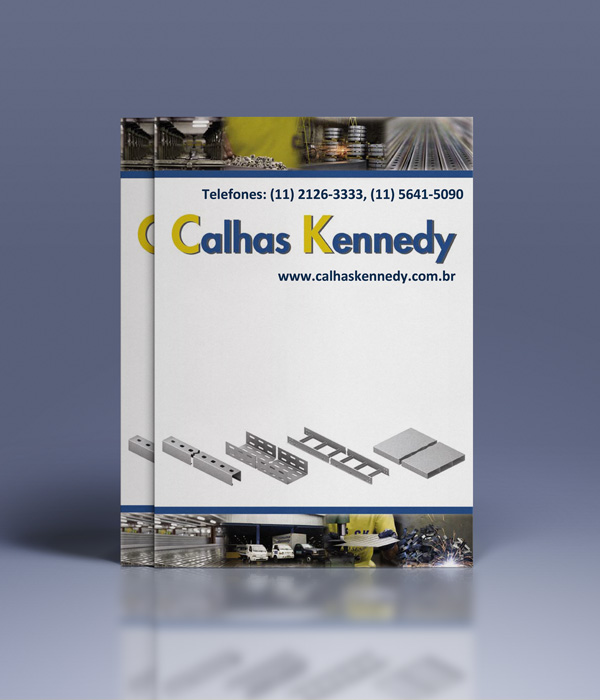 calhas kennedy donwload do catalogo eletrocalhas