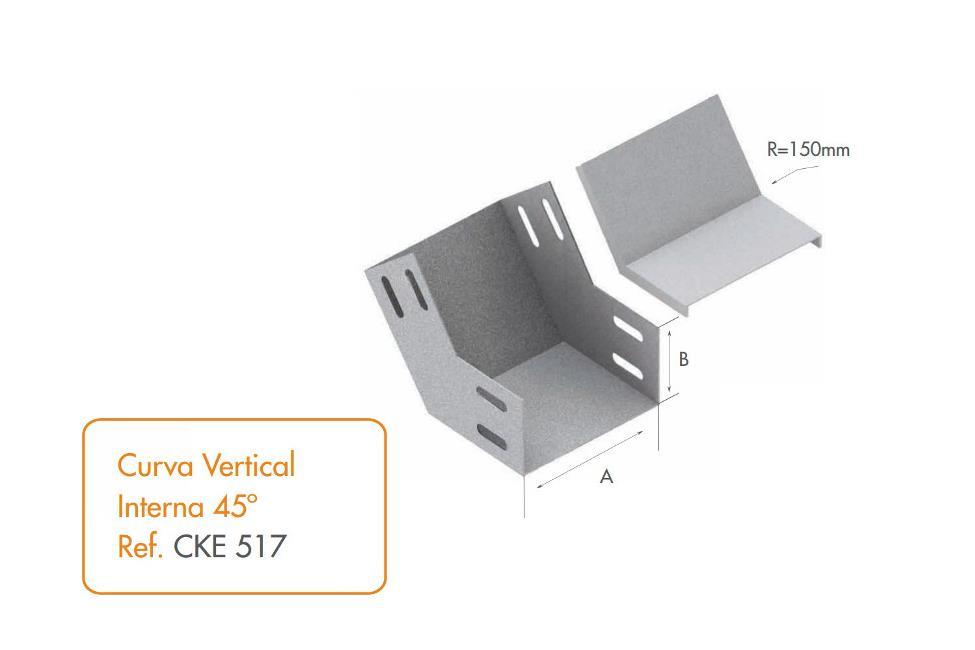 Curva vertical interna 45 calhas kennedy for Curva vertical exterior 90