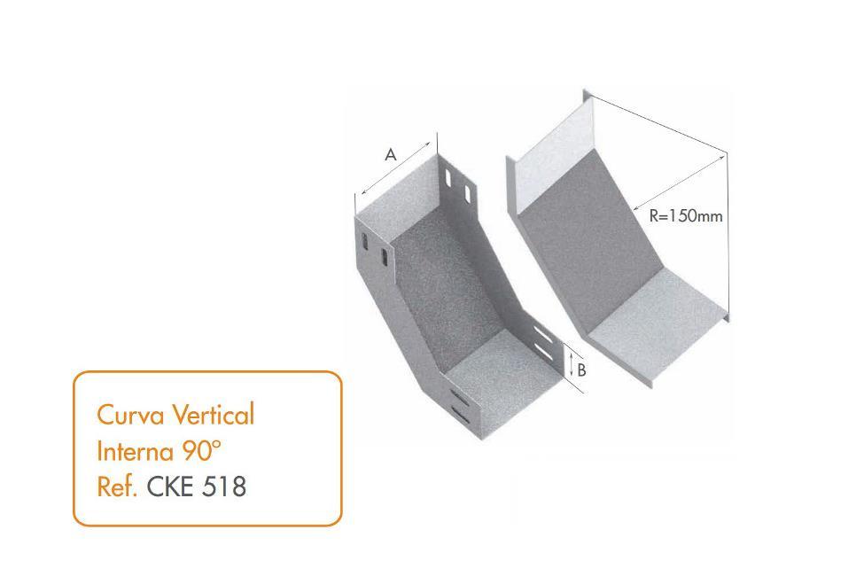 Curva vertical interna 90 calhas kennedy for Curva vertical exterior 90